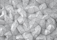 White low poly background Royalty Free Stock Image