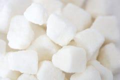 White lump sugar Stock Image