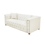White Luxurious sofa Stock Photo