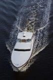 White luxury Boat Royalty Free Stock Photography