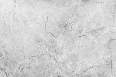 White Luxury Marble Surface, detailed structure of marble black and white for design Royalty Free Stock Photography