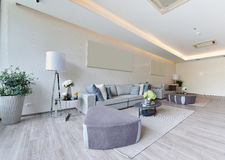 White luxury modern living interior and decoration, interior des. Ign Stock Images