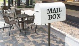 White Mail Box Royalty Free Stock Photos
