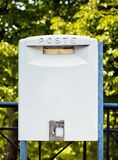 White mailbox Stock Photography
