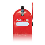 White mailbox Royalty Free Stock Images