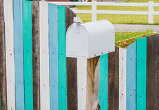 White mailbox Stock Photos