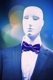 White mannequin Royalty Free Stock Photos