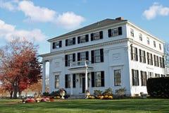 White Mansion Royalty Free Stock Image