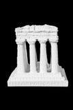 White marble of acropolis Stock Image