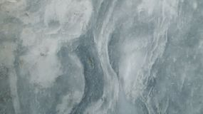 White Marble Background with Blue Waters stock image