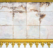 White marble board Stock Image
