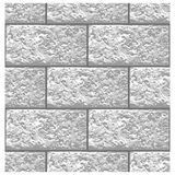 White Marble brick seamless pattern, vector royalty free illustration