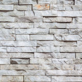 White marble brick wall texture Royalty Free Stock Images