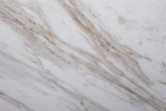 White Marble with brown veins close up stock photography