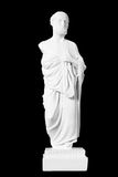 White marble bust of the greek  physician Hippocrates Royalty Free Stock Photography