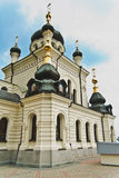 White marble church in Foros. Ukraine.Crimea Royalty Free Stock Photography