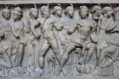 White marble clFresco Royalty Free Stock Photos