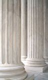 White Marble Columns Royalty Free Stock Image