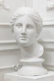 White marble head Stock Photo