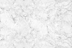 White marble with natural pattern stock images