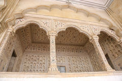 White marble palace, Agra fort, India Stock Photography