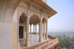 White marble palace, Agra fort, India Stock Images