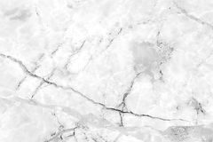White marble patterned texture background, Detailed genuine marble from nature. Royalty Free Stock Photos