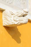 White marble railings. Ancient Chinese traditional architectural landscape Royalty Free Stock Photography