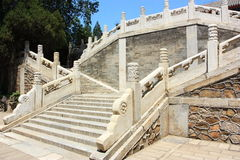 White Marble stair Stock Photo