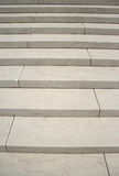 White marble steps Royalty Free Stock Image