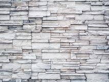 White marble stone brick wall.  stock photography