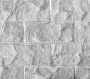White marble stone brick wall background or Stock Images