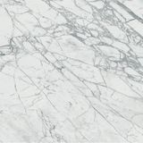 White marble surface with natural pattern stock photo