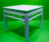 White marble table Royalty Free Stock Photo