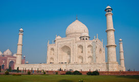 White marble Taj Mahal Royalty Free Stock Photo