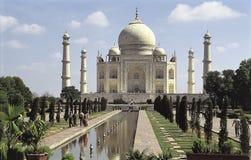 White marble Taj Mahal in India, Agra, Uttar Pradesh Royalty Free Stock Images