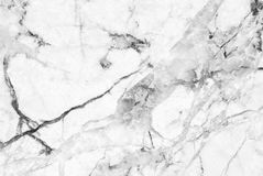 White marble texture abstract background pattern with high resolution. Royalty Free Stock Images