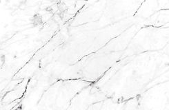 White marble texture background, Detailed genuine marble from nature. Royalty Free Stock Photos