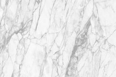 White marble texture  for background and design. Stock Image