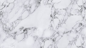 White marble texture and background. White marble texture with natural pattern for background or design art work Royalty Free Stock Photography