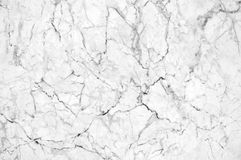 White marble texture with lots of bold contrasting veining. Natural pattern for backdrop or background, Can also be used create surface effect to architectural Stock Images