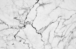 White marble texture with lots of bold contrasting veining. Natural pattern for backdrop or background, Can also be used create surface effect to architectural Stock Image