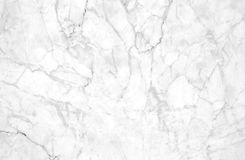 White marble texture with lots of contrasting veining. Natural pattern for backdrop or background, Can also be used create surface effect to architectural slab Stock Image