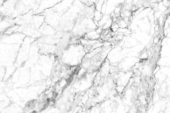 White marble texture shot through with deep veining. Natural pattern for backdrop or background, And can also be used create marble effect to architectural Royalty Free Stock Photography