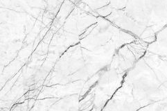 White marble texture shot through with deep veining. Natural pattern for backdrop or background, And can also be used create marble effect to architectural Royalty Free Stock Photo