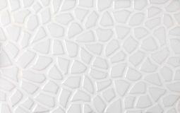 White marble textures, mosaic tiles collage Royalty Free Stock Photos