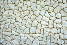 White marble wall Stock Image