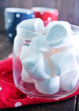 White marshmallow Royalty Free Stock Photos