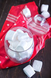 White marshmallow Royalty Free Stock Photo