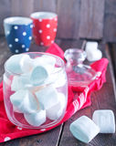 White marshmallow Stock Photo